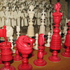 Vintage Ivory chess set  seeking info