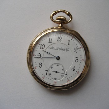 Illinois Three Finger Bridge Getty Style Pocket Watch - Pocket Watches