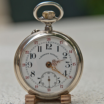 Roskopf pocket watch