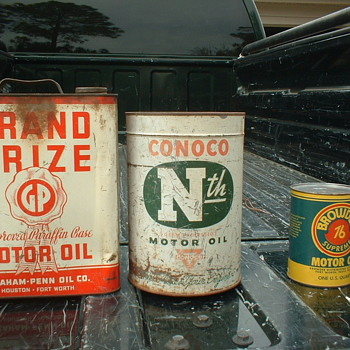 Oil Cans - Petroliana