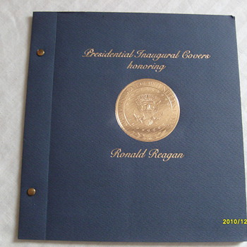 Ronald Reagan Inauguration Day Cover's