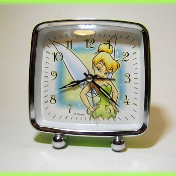 Desk Clock Alarm ( Disney ) TINKERBELL