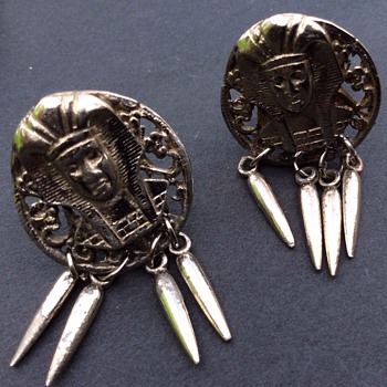 Antique clip on earrings ? - Costume Jewelry