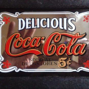 Coca Cola pub mirror - Coca-Cola