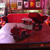 Buddy L...International Harvester Truck With Hydraulic Dump Bed...Original