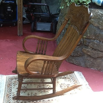 Old hand made Rocking Chair need help finding more about it! - Furniture