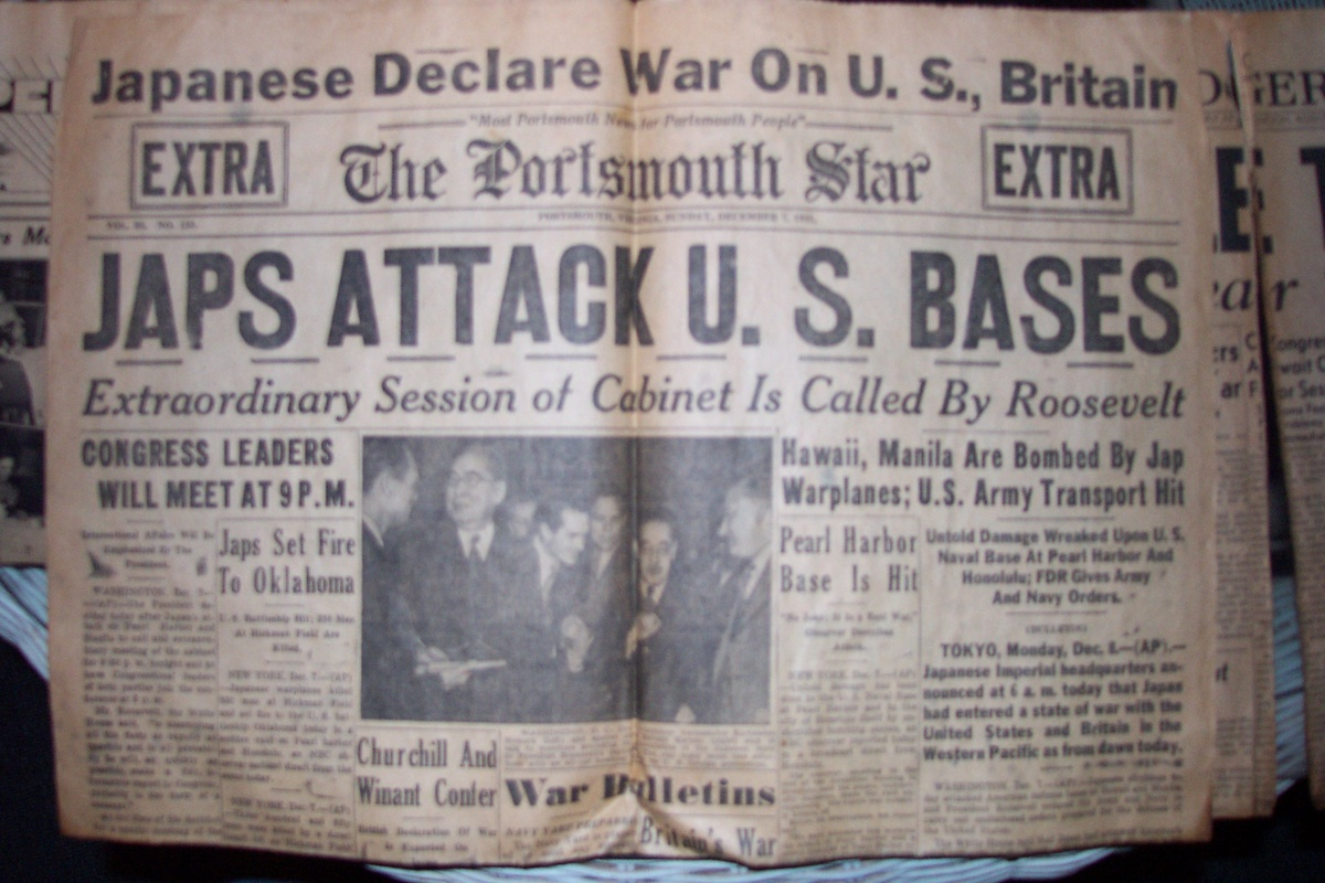 Pearl harbor papers