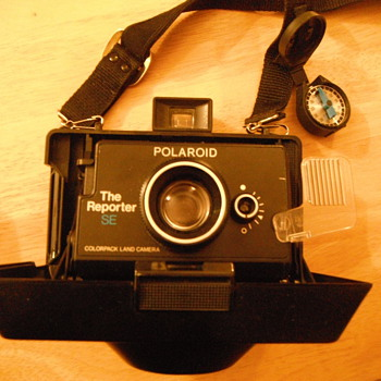 Late 70's (I believe) Polaroid Reporter SE camera