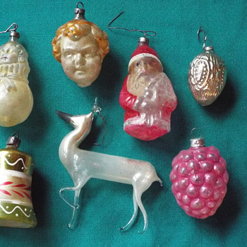Older Christmas Tree Ornaments - Christmas