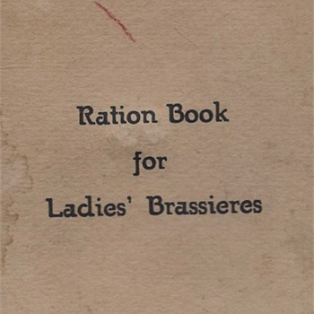 WWII Ration Book Humor and My Mother the Owner - Paper