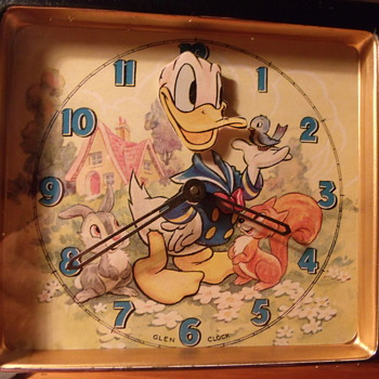 Donald Duck Animated Clock