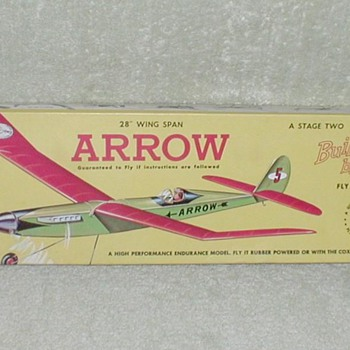 Guillow's Balsa Airplane Kit - ARROW