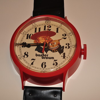 Buster Brown Wristwatch Wall Clock