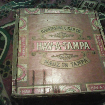 My cigar box