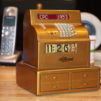 Another One,  1953 NCR Cash Register Award Cyclometer. - Art Deco