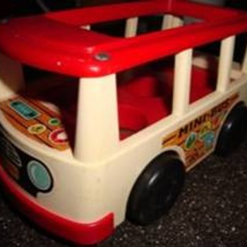 1969 Fisher-Price Bus