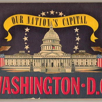 1942 - Tour Guide - Washington, D.C. - Books