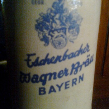 an old German stein - Breweriana