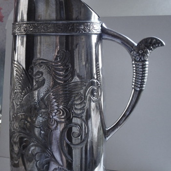 Silverplate pitcher - Sterling Silver
