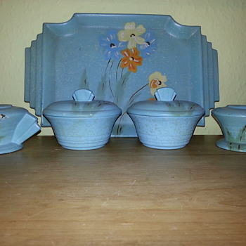 Art Deco Dressing Table Set - Art Deco
