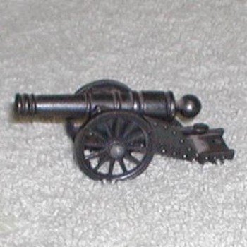 "Bronze Miniature ""Victory"" Cannon Replica"