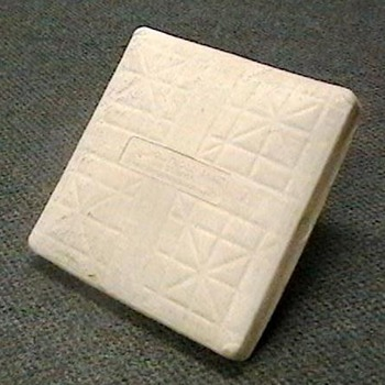 Base Used at Wrigley Field During the 2008 Season - Baseball