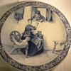 Antique Royal Delft Charger