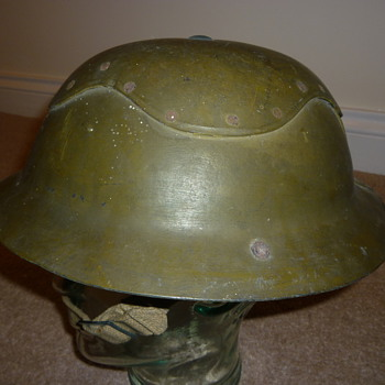 WW11 British Civil Defence helmet - Military and Wartime