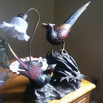 Cast Iron Bird Statue - ID help needed