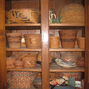 Some of My Baskets - More to Come