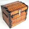 Excelsior 1868 Patent trunk, Oak Slat