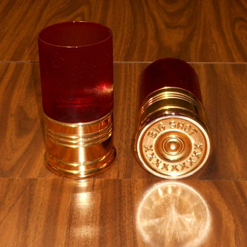 Shotgun Shell Drink Glasses - Glassware