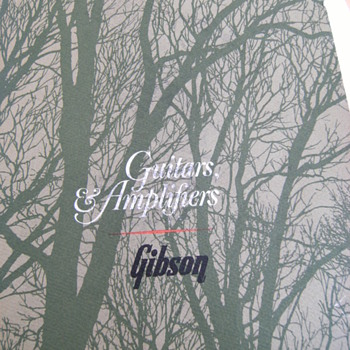 Vintage Gibson Guitar Catalog, Part 3 of 3 - Guitars