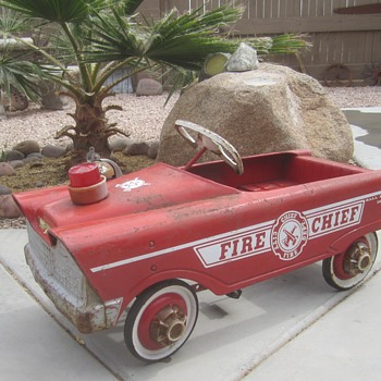 Murray Fire Cheif  - Model Cars