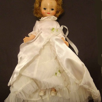 "ALEX DOLLS? BRIDE AND FRIEND UNMARKED 8"" - Dolls"