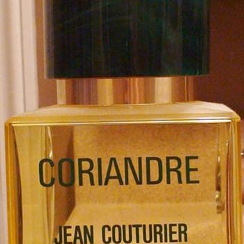 Coriandre Perfume Store Display Large - Bottles