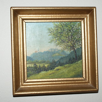 Painting:  Agustusburg