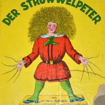 Der Struwelpeter - Edward Scissorhands in German - Books