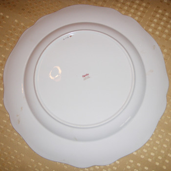 Spode Seder Plate