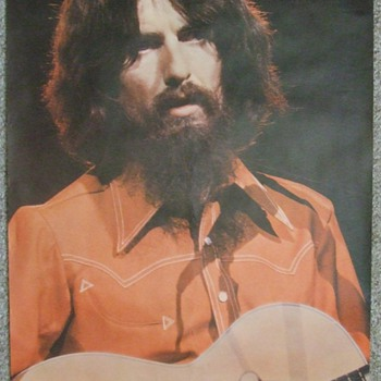 1960's-1970's Beatles/George Harrison Posters~Final Installment  - Music Memorabilia