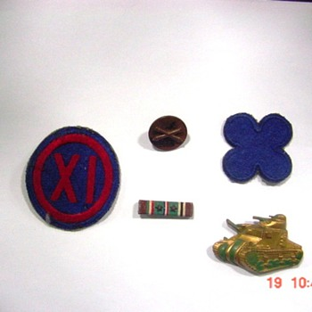 Vintage Military Emblems