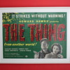 My prized &#039;Thing from another world&#039; uk quad poster