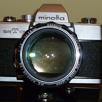Minolta SRT 101 / MC ROKKOR - PG Lens - Cameras