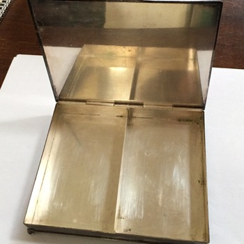 Vintage Silver Plate Card or Cigarette Box