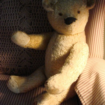 Mohair Teddy Bear  - Dolls