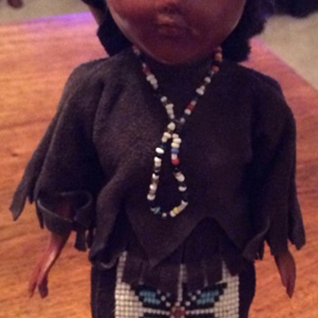 American Indian doll - Dolls