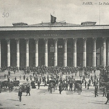 PARIS. – LE PALAIS DE LA BOURSE  - Postcards