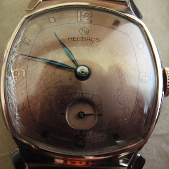 "1940's Helbros watch ""Duke"""