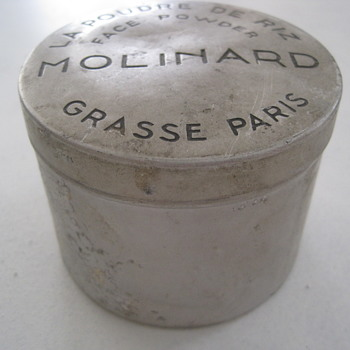 MOLINARD FACE POWDER TIN