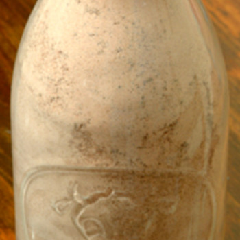 Cocoa Milk Bottle